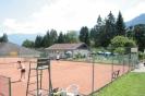 Tennisplätze und Tenniscafe